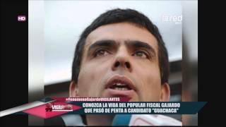 """Fiscal Gajardo fue nominado a """"Rey Guachaca"""""""