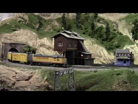 One trip around my N Scale Train Layout – Scenic Ridge