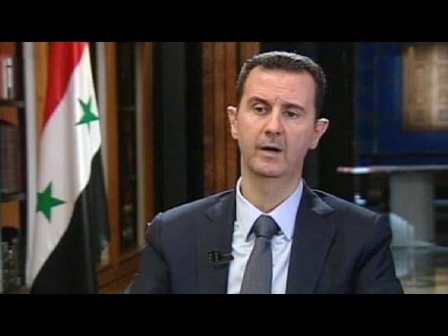Асад объяснил, почему согласился сложить химическое оружие