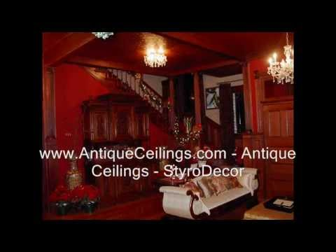 Antique Ceilings   StyroDecor   Decorative Ceiling Tiles Gallery