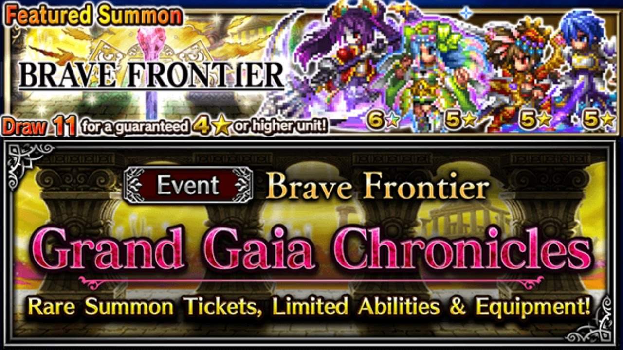 brave frontier grand gaia chronicles