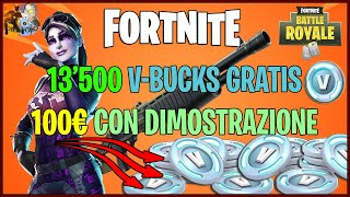 🆕FORTNITE PS4 🔥 COME RECEIVE 13,500 V-BUCKS FREE - REAL DEMONSTRATION 100% WORKING METHOD!