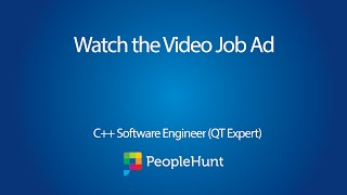 C++ / QT Software Engineer