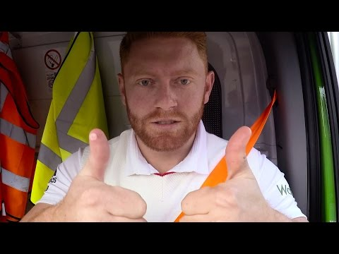 Jonny Bairstow delivers groceries for Waitrose