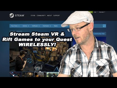 How-to Stream Steam VR Oculus Quest (stream Vive AND Rift Games To Oculus Quest)