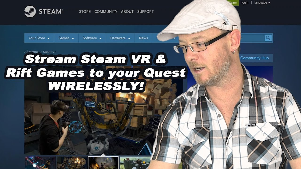 How to stream Steam VR Oculus Quest (stream Vive AND Rift games to Oculus Quest)