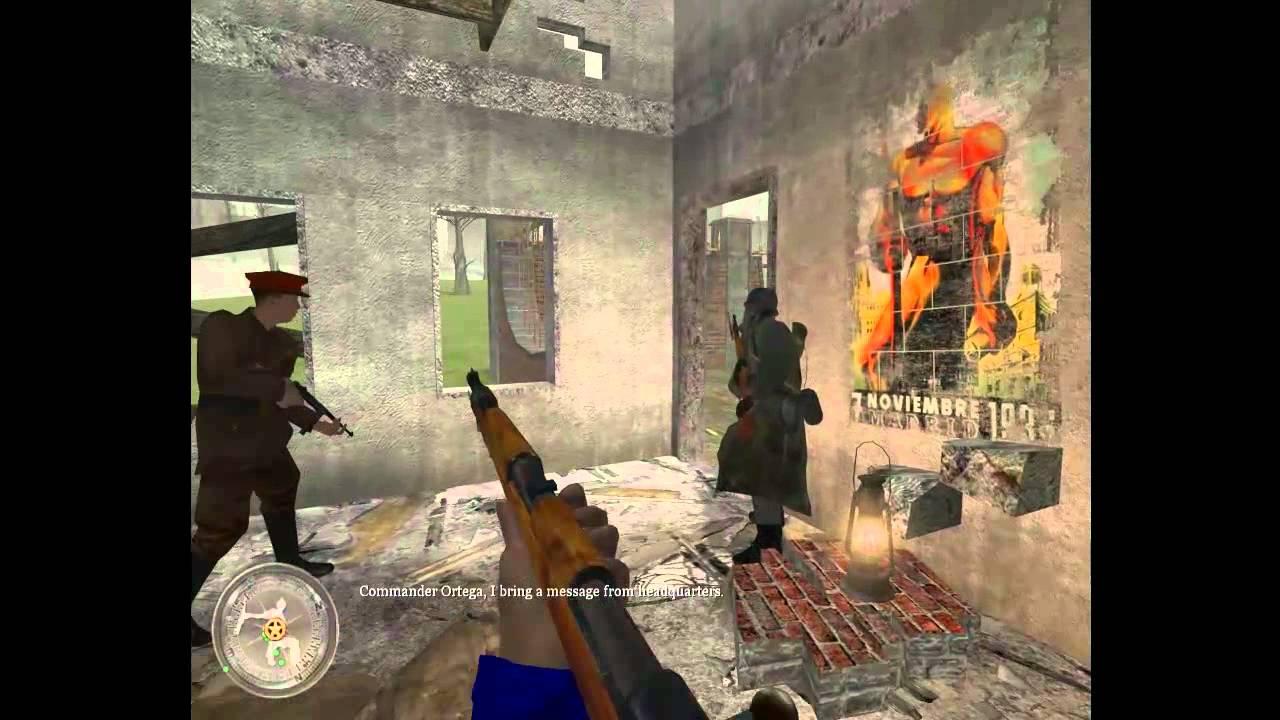 Call Of Duty 2 Spanish Civil War Gameplay 002 Xxl