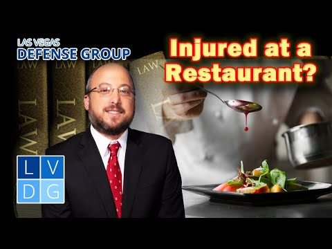 Injured in a Las Vegas restaurant? Who can you sue?