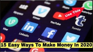 15 Easy Ways To Make Money In 2020 - We List 15 Ways to Make More Money In 2020. Work From Home Also