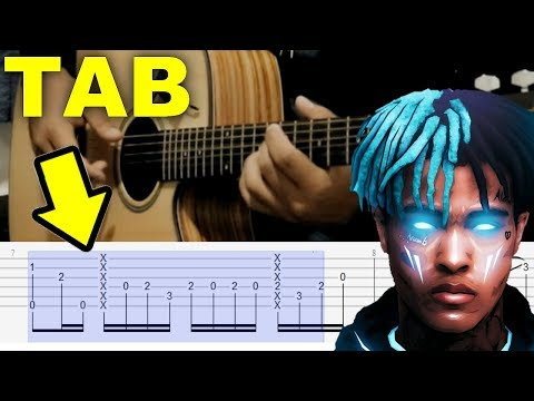 How to Play Everybody Dies in Their Nightmares - XXXTENTACION | Fingerstyle Guitar Lesson (Tutorial)