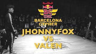 JhonnyFox VS Valen - SemiFinal - Red Bull BC ONE Barcelona Cypher 2015