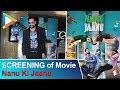 Abhay Deol Host Screeing Of Movie Nanu Ki Jaanu