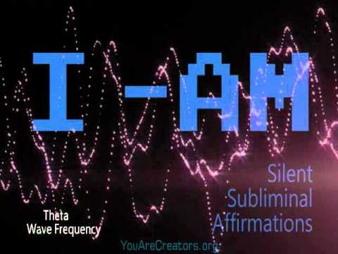 "Silent Subliminal ""I-Am"" Affirmations! (Play While sleeping) *Theta FreQ"