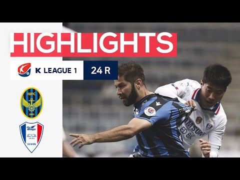 Incheon Suwon Bluewings Goals And Highlights