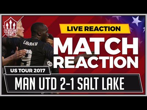 Manchester United 2-1 Real Salt Lake | MKHITARYAN & LUKAKU Goals win it