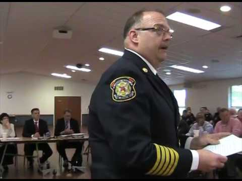 Grand Blanc Twp. Board Joint Meeting with City Council and Fire Commission - 4.27.17