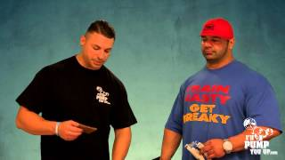 IFBB Pro Dusty Hanshaw Interview PART 2 Fashion, Shaving Legs, IFORCE Hemavol Taste Test