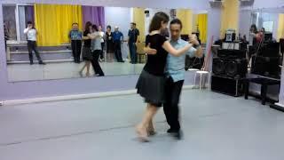 Урок 20. Барида в танго с сакадой