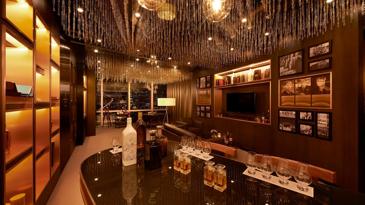 singapores invite  johnnie walker whisky room cnbc international youtube