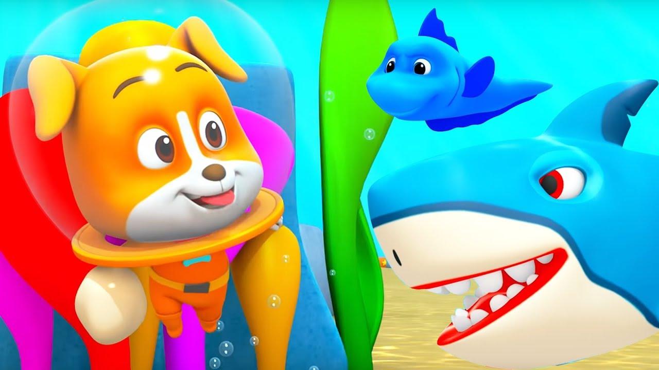 Underwater Treasure Cartoon Videos For Children Kids Funny Videos Youtube