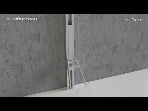 AluKönigStahl | Schüco ALB C- und Z Lamellen | Montagevideo