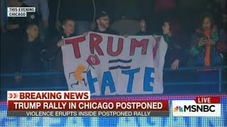 Rachel Maddow Eloquently Outlines The Trump Protest Evolution (Mar 11., 2016)
