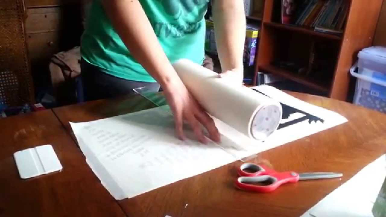 Best Way To Apply Transfer Tape To Vinyl YouTube - Vinyl and transfer tape
