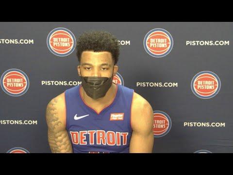 Pistons LIVE Postgame 3.17.21: Saddiq Bey