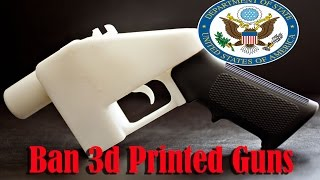 United States State Department looking to ban 3D Printed Guns