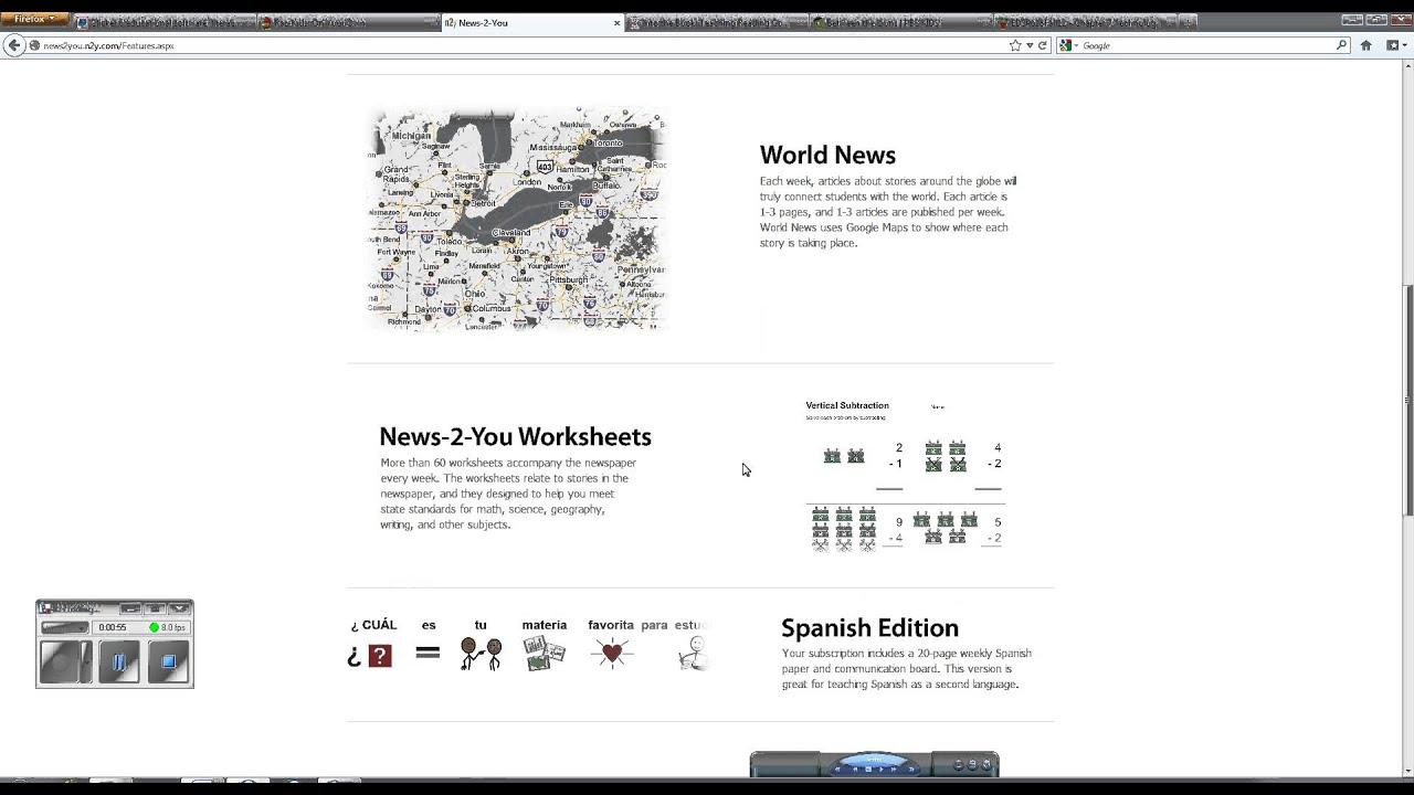 Uncategorized News 2 You Worksheets news 2 you youtube you