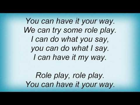 Trey Songz - Role Play Lyrics