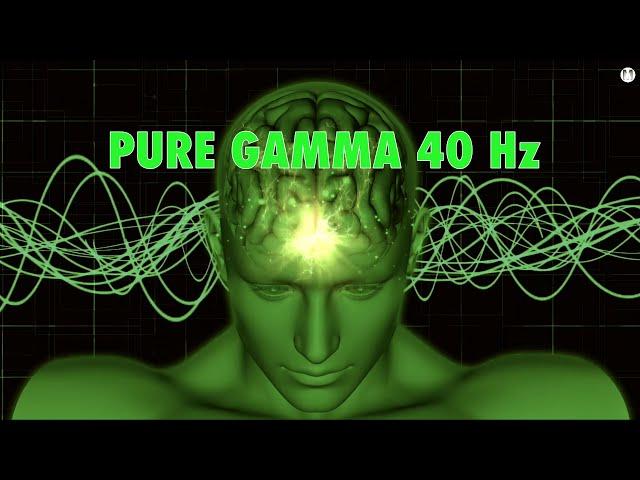 Pure Gamma Waves [40 Hz] For Peak Concentration Intense Focus Problem Solving