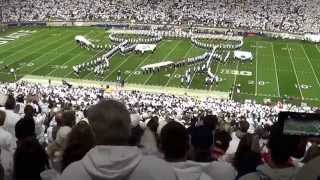 Penn State Blue Band Halftime Show.  Featuring Game of THON. October 25, 2014.