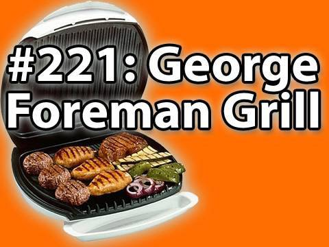 George Foreman Grill Hot Dogs