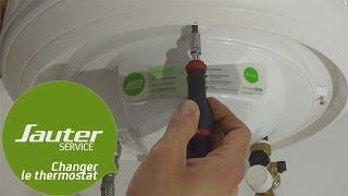 Comment Changer Le Thermostat Electronique De Votre Chauffe Eau Vertical Mural Sauter Youtube