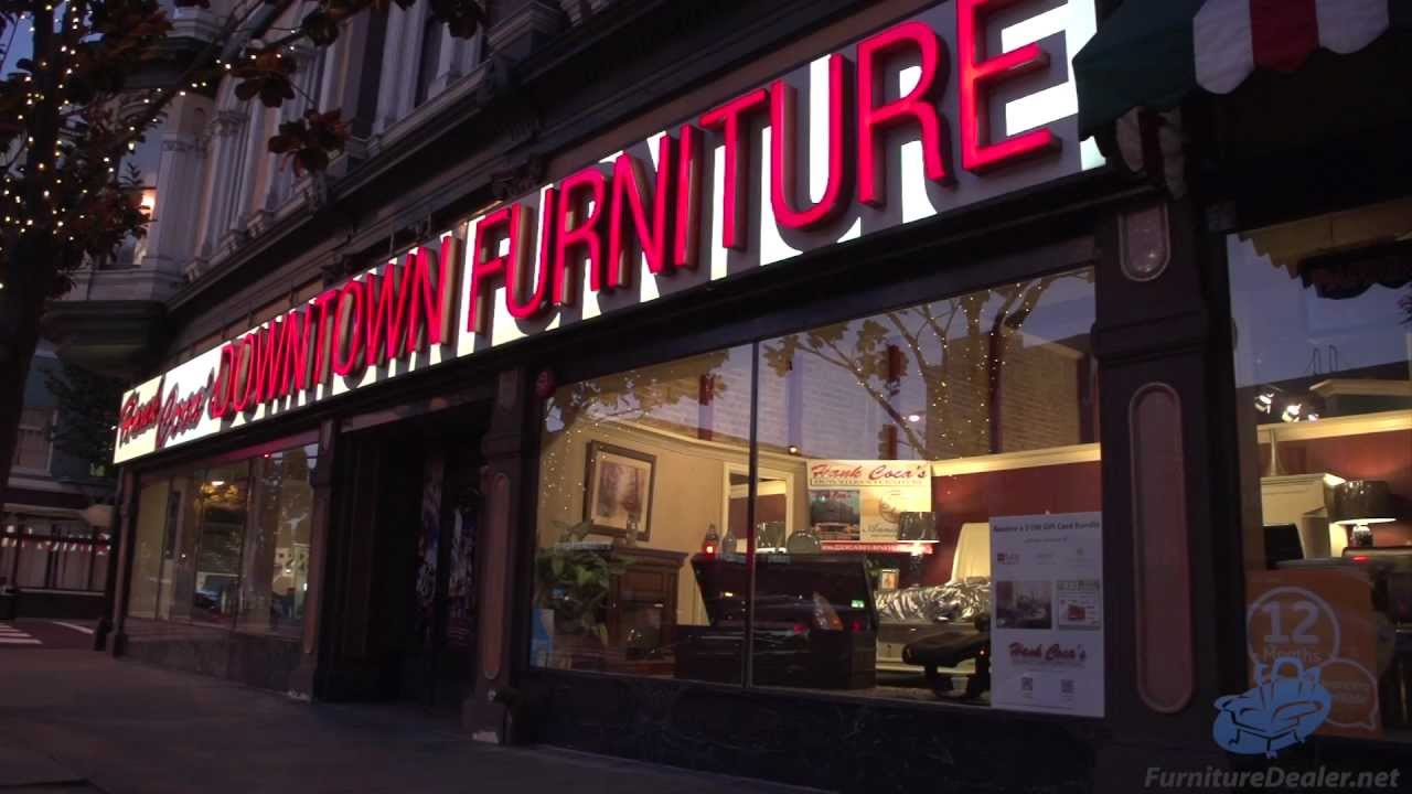 Hank Cocau0027s Downtown Furniture   San Jose, California U0026 San Francisco Bay  Area Furniture Store   YouTube
