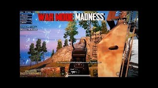 WAR MODE Madness | KILLER SQUAD | PUBG MOBILE