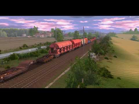 [Trainz a new era]Quelques trains sur la Ligne de manon. |