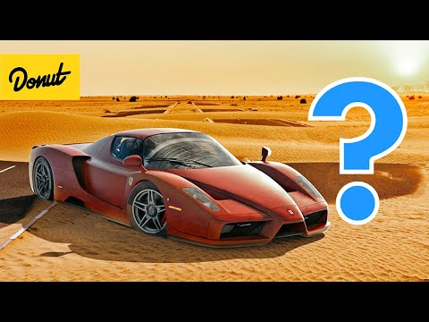 Who Keeps Ditching Supercars in the Desert?