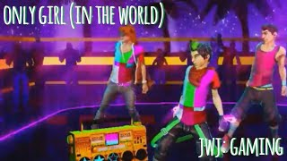 Dance Central 3 - Only Girl In The World [Hard 100% Gold Stars]
