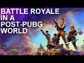 Examining the Battle Royale Landscape, One Year Post-PUBG