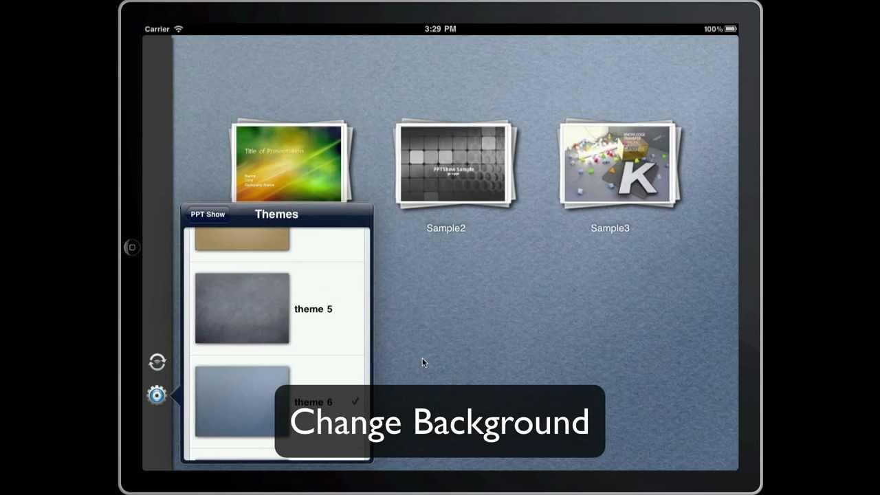 Pptshow powerpoint slide presentations on ipad youtube pptshow powerpoint slide presentations on ipad toneelgroepblik Images
