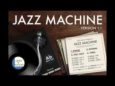 12-Bit Crunch 'Jazz Machine' v1.1 UPDATE (Walkthrough)