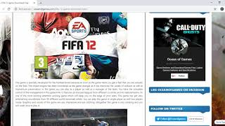 HOW TO DOWNLOAD FIFA 12 ON PC PART 1