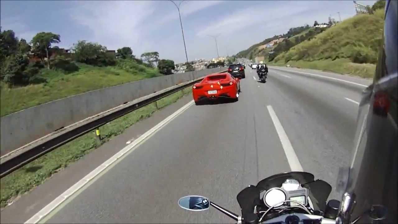 K S H D Ferrari Vs Bmw K 1300r Vs B King 1300 Youtube