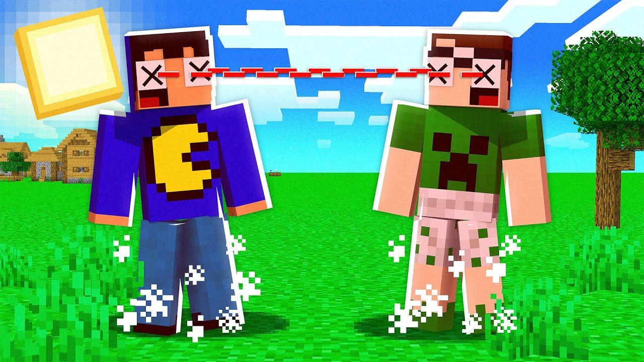 OLHAR = MORREU no Minecraft! 👀