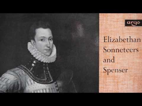 English Poetry - Elizabethan Sonneteers & Edmund Spenser (1966) - Argo RG 485