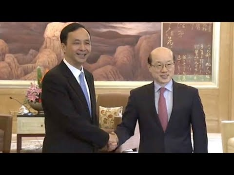 State Council's Taiwan Affairs office director meets with New Taipei City's mayor