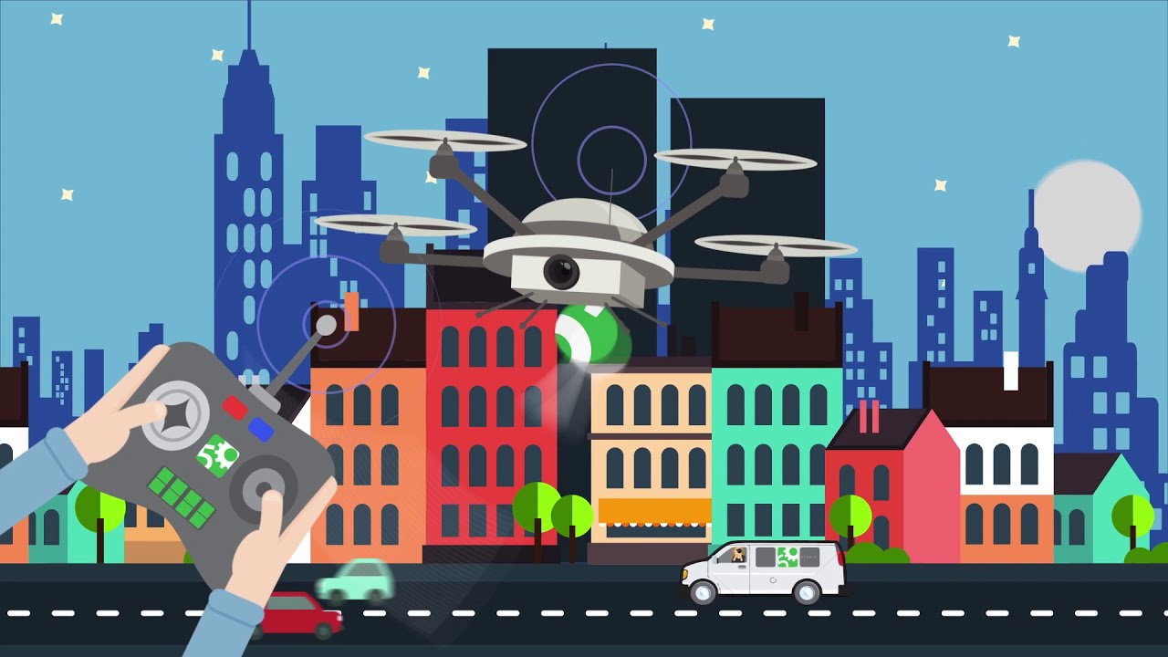 Drone Demo - 5Gear Studios