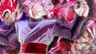 BEAST! Divine FURY! Rosé Goku Black! Zamasu Life Line! Dragon Ball Xenoverse 2